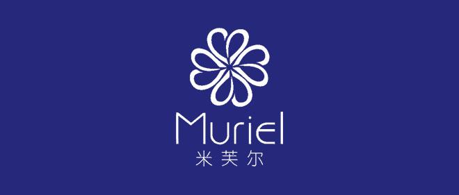上海米芙尔护肤品有限公司标志(logo)设计负形